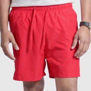 OLGYN Men's Red Swim Shorts